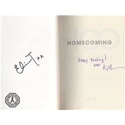 100, The -  Homecoming  Paperback Book Signed by E. Taylor & Author K. Morgan