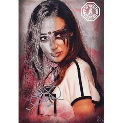 100, The - Lexa/Alycia Art Print Signed by Alycia Debnam-Carey