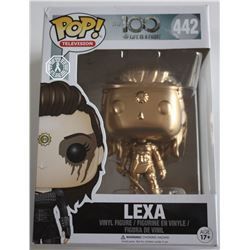 100, The - Lexa Custom ToyWiz Gold Funko Pop! (Rare)
