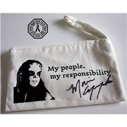 100, The - Octavia Canvas Pouch Bag Signed by Marie Avgeropoulos