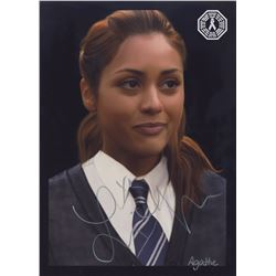 100, The - Raven (Harry Potter Crossover) Digital Painting Signed by Lindsey Morgan