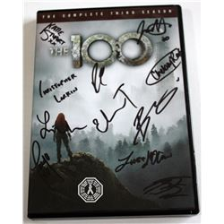 100, The - Season 3 DVD Signed by 11 Cast