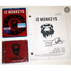 12 Monkeys Season 1 DVD, CD & Signed Script Package