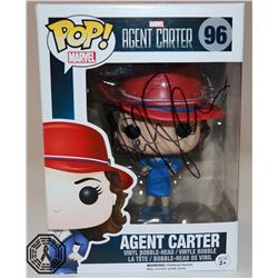 Agent Carter Funko Pop! Signed by Hayley Atwell (Rare/Vaulted) + Agent Carter Mini Art Print