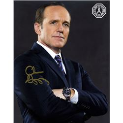 Agents of S.H.I.E.L.D. Agent Coulson Photo Signed by Clark Gregg