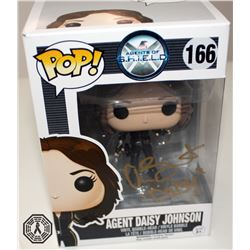 Agents of S.H.I.E.L.D. Agent Daisy Johnson Funko Pop! Signed by C. Bennet (Rare/Vaulted)