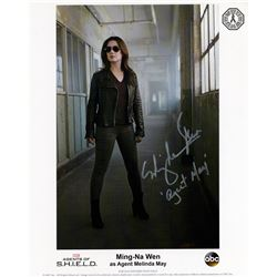 Agents of S.H.I.E.L.D. Agent May Photo Signed by Ming-Na Wen
