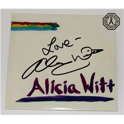 Alicia Witt CD Signed by Artist Alicia Witt (The Walking Dead)