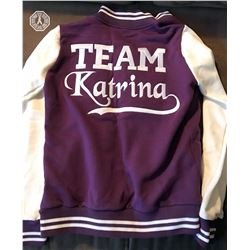 Arrow Team Katrina Law Jacket Signed by Katrina Law