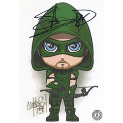 Arrow The Arrow Mini Art Print Signed by Stephen Amell