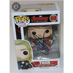 Avengers: Age of Ultron Thor Funko Pop! Signed by Chris Hemsworth