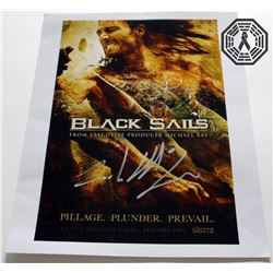 Black Sails Poster Signed by Zach McGowan
