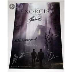 Exorcist, The (TV) - SDCC 2017 Mini Poster Signed by 6 Cast/Creative Team