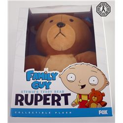 Family Guy 300th Episode Collectible Plush: Stewie's Teddy Bear Rupert