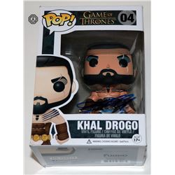 Game of Thrones Khal Drogo Funko Pop! Signed by Jason Momoa