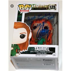 Hobbit, The: Battle of the 5 Armies Tauriel Funko Pop! Signed by E. Lilly (Rare/Vaulted)