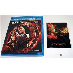 Hunger Games, The: Catching Fire Blu-ray Signed by Stanley Tucci