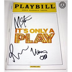 It's Only a Play Playbill Signed by M. Broderick, R. Grint, M. Stock
