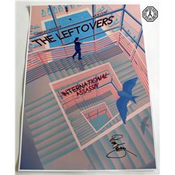 Leftovers, The - International Assassin Limited Ed. Poster Signed by D. Lindelof