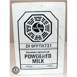 LOST Authentic Dharma Initiative Powdered Milk Prop