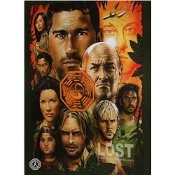 LOST Character Montage Poster