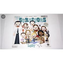 LOST Jack & The Survivors Art Print Signed by Jorge Garcia