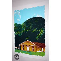 LOST The Barracks Limited Edition ARG Screenprint