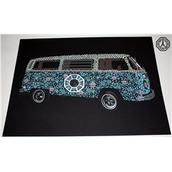 LOST The Dharma Van Limited Edition ARG Screenprint
