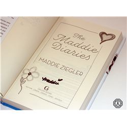 Maddie Diaries, The - Hardcover Book Signed by Author Maddie Ziegler