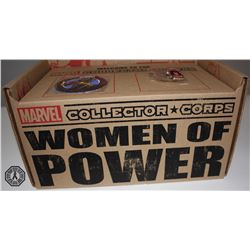 Marvel Women of Power Collector Corps. Box