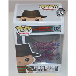Nightmare on Elm Street, A - Freddy Krueger Pop! Signed by R. Englund