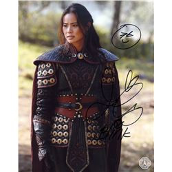 Once Upon a Time Mulan Photo Signed by Jamie Chung