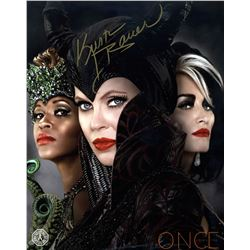 Once Upon a Time Queens of Darkness Photo Signed by K. Bauer van Straten