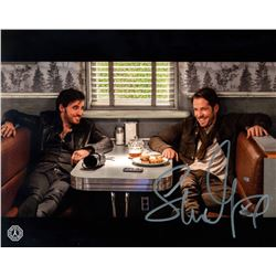 Once Upon a Time Robin Hood and Hook Photo Signed by Sean Maguire