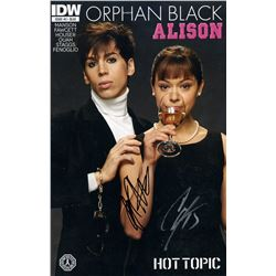 Orphan Black Comic #3 Alison (Hot Topic Exclusive) Issue Signed by Houser & Staggs