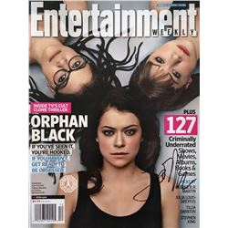 Orphan Black EW Magazine Cover Story Signed by Tatiana Maslany