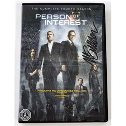 Person of Interest: Season 4 DVD Signed by Michael Emerson