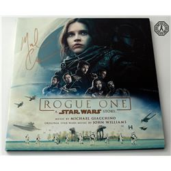 Rogue One: A Star Wars Story Double Vinyl Soundtrack Signed by M. Giacchino