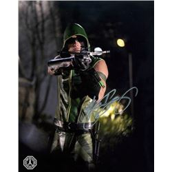 Smallville Green Arrow Photo Signed by Justin Hartley (This is Us)