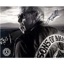 Sons of Anarchy Clay Photo Signed by Ron Perlman