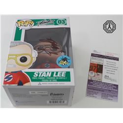 Stan Lee Superhero Red (Comikaze 2015 Exclusive) Funko Pop! Signed by Stan Lee