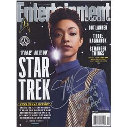 Star Trek: Discovery EW Magazine Cover Story Signed by Sonequa Martin-Green