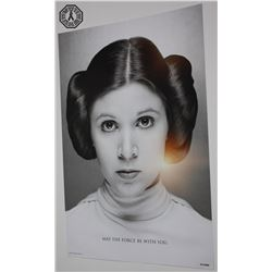 Star Wars Celebration 2017 Exclusive Princess Leia Poster (Limited Edition)