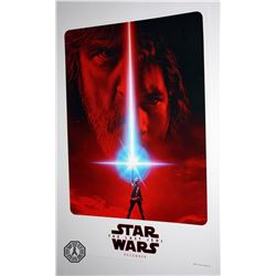 Star Wars Celebration 2017 Exclusive Star Wars: The Last Jedi Poster