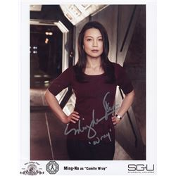 Stargate Universe Camile Wray Photo Signed by Ming-Na Wen