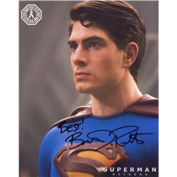Superman Returns Photo Signed by Brandon Routh