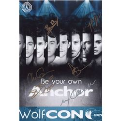 Teen Wolf Photo Poster Signed by 6 Cast