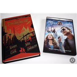 Tomorrowland DVD Signed by Damon Lindelof & Before Tomorrowland Book