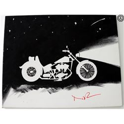 Walking Dead, The - Daryl Motorcycle Fan Art Signed by Norman Reedus
