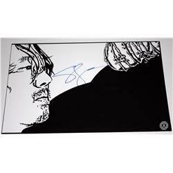 Walking Dead, The - Glenn Fan Art Signed by Steven Yeun